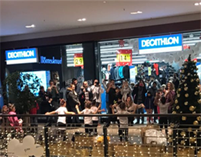 Successful opening of Decathlon on the 7th of december 2017